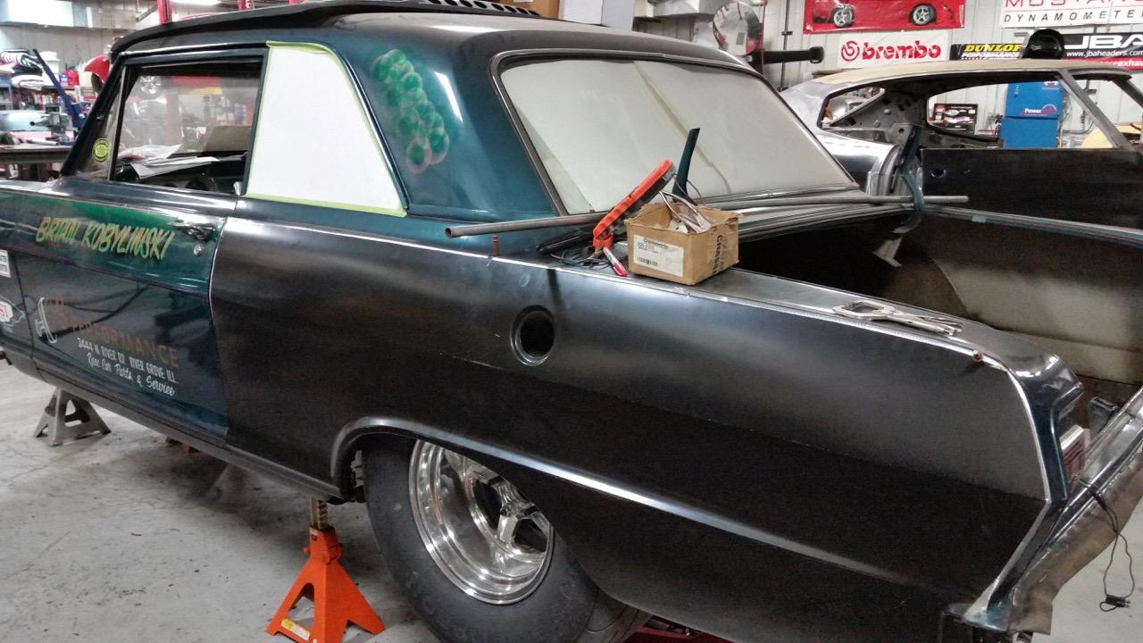 Kobolinski Chevy II Drag car-street local resto - Big 3